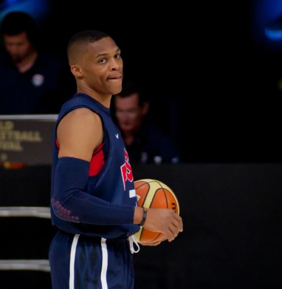NBA: Szczęśliwa trzynastka Westbrooka